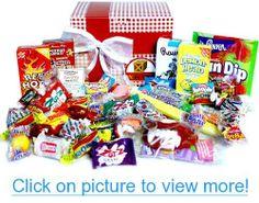Valentine Nostalgic Candy Gift Box #Valentine #Nostalgic #Candy #Gift #Box