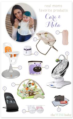 Real Moms Favorite Baby Products - Cari & Mila