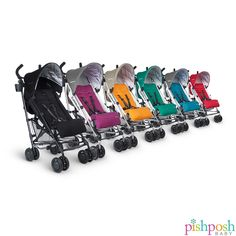 It's time to get some fresh air! Grab a G-LUXE by @uppababy - it's just the right size for zipping in and out of the car. One hand 3-position recline, stands when folded, adjustable footrest, and ultralight design - perfect for the warm weather! Available in 6 colors.   http://www.pishposhbaby.com/uppababy-g-luxe-2015.html
