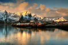 Sakrisoy again -  Reine, Nordland Fylke, Norway