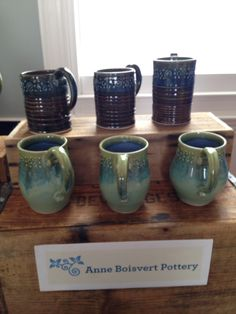 Anne's lovely pottery will be at Zing into Spring!