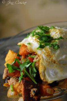 Butternut and Sweet Potato Hash with Turkey Sausage (replace with ...
