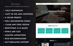 Startup – Free Onepage Startup/Business Template