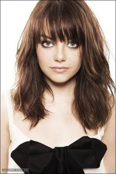 21 medium length layered haircuts with bangs respond - Superb Long Length Layered Haircuts, Shoulder Length Hairstyles with Bangs for Women Over 45 Pertaining to Particular Long Length Layered Haircuts Layered Haircuts With Bangs, Long Hair With Bangs, Hairstyles With Bangs, Cool Hairstyles, Glasses Hairstyles, Full Bangs, Straight Bangs, Black Hairstyles, Bangs Hairstyle