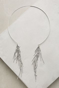 Spanish Moss Collar #anthropologie