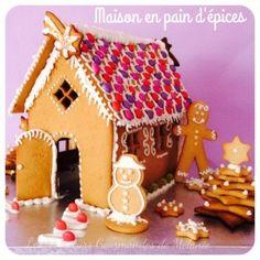 Maison de Noël en pain d'épices {pas-à-pas en images}  -