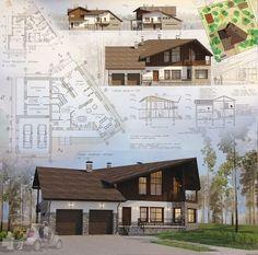 Индивидуальный жилой дом. Примеры подачи 2015г.