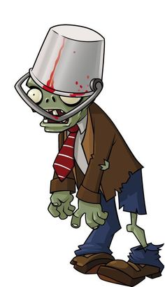 The Daring Librarian: Gaming, Zombies, & Education for the Win! Plants Vs Zombies Personajes, Zombies Vs, Zombie Apocalypse Party, P Vs Z, Vintage Halloween, Halloween Party, Zombie Birthday Parties, Zombie Art, Cartoon Drawings
