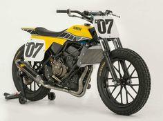 "Yamaha DT-07 ""Dirt Tracker Concept"" by Palhegyi Design"