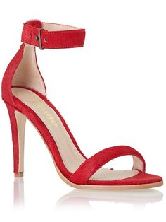 $139.97 Mode Collective Womens Ankle Strap Sandal Size 6 (EU 36) Medium - Red Pony #sandal
