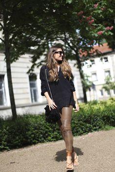 b a r t a b a c blogger shirt pants shoes sunglasses bag jacket jewels