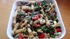 Mozzarella - Nudel Salat, ein schmackhaftes Rezept aus der Kategorie Gemüse. Bewertungen: 41. Durchschnitt: Ø 4,4.