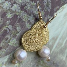 Pearl Earrings, Etsy, Pearls, Jewelry, Fashion, Schmuck, Woman, Moda, Pearl Studs