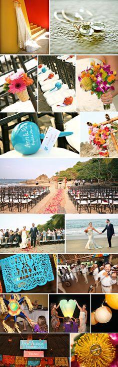 Photo Element Studio, Denver CO Wedding Photographer, Destination Wedding,Mexico Beach Wedding-Sayutila