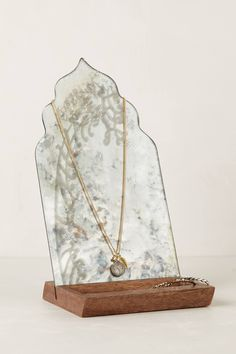 Fern-Reflection Jewelry Stand - anthropologie.com