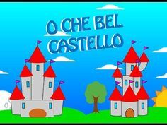 O che bel castello : Filastrocche per bambini - YouTube Canti, Different Languages, Karaoke, Songs, Video, Youtube, Spring, Italy, Song Books