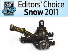 2011 BACKPACKING EDITORS' CHOICE SNOW AWARD: LA SPORTIVA RT ALPINE TOURING BINDING
