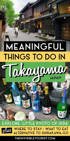 "Is Takayama worth visiting? Known as ""Little Kyoto of Hida"" the answer is yes! My 2 days in Takayama itinerary covers the cultural things to do in Takayama, where to stay in Takayama for ryokan and hot springs, what to eat in Takayama and more. This Takayama travel guide includes the important history of Takayama, Takayama events, day trips from Takayama (including Shirakawago and hidden gem alternative) plus tips for the perfect Takayama trip for your Japan itinerary! 