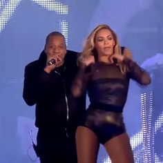 Crazy In Love & Single Ladies - Beyoncé with Jay Z