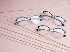 Go off the chain with Vogue Eyewear's new Light and Shine Collection.
