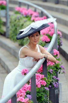 Princess Tamara Czartoryski attends Day 2 of Royal Ascot 2014 in England, June 18th.