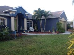 After picture. Exterior house painters Port Saint Lucie Florida.  Painting Company