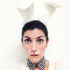 white rabbit makeup - Cerca con Google
