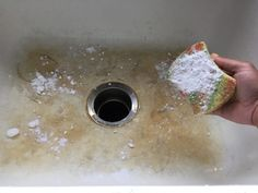 Secret to Making Your Porcelain Sinks Shine Again How To Make Porcelain, Clean Porcelain Sink, Baking Soda Hydrogen Peroxide, Rental Kitchen, Me Clean, Beautiful Kitchens, The Secret, Things To Come, Cleaning