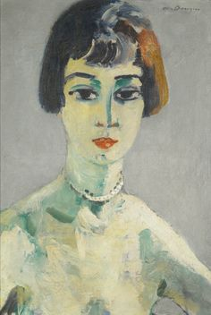 Kees van Dongen Suzanne. 1925-30 Oil on canvas 55.5 by 38.5 cm VIA MORE