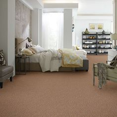 Shaw Floors Carpet Expect More B gives a different look, great for rental property and affordable for anyone. Looks great and performs well, your going to love the savings - Discount Flooring Liquidators
