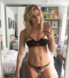 Chest a glimpse!In a second sultry picture that she shared with her Snapchat followers, the 29-year-old blonde beauty slipped into another scanty lingerie set