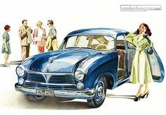 Der Grosse Borgward Hansa 2400 bietet Komfort für den Herrenfahrer © Zwischengas Archiv #Borgward #Hansa #zwischengas #classiccar #classiccars #oldtimer #oldtimers #auto #car #cars #vintage #retro #classic #fahrzeug