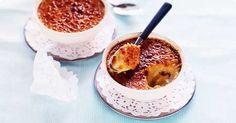 Liquorice creme brulee Frisk, No Bake Desserts, Panna Cotta, Sweet Tooth, Pudding, Cream, Baking, Ethnic Recipes, Food