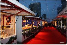 Le marché de Noël de la Défense 2016 - Le petit monde de Natieak
