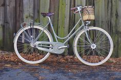 """Somewhere in the middle, the Italian city bike is really a variation of the so-called """"sports roadster""""design(the ubiquitous Raleigh Sports and Lady's Sports were examples of these): swept-back handlebars at or moderately above saddle level, combined with a short stem for a generally upright but slightly leaned-forward position. The seat tube is not as slack as that on a Dutch bike, but still relatively relaxed. The cyclist can lean into the bike if they wish to apply more power, or they…"""