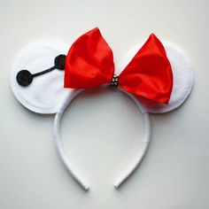Check out this item in my Etsy shop https://www.etsy.com/listing/227322374/baymax-inspired-mouse-ears