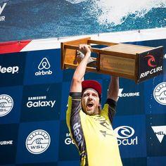 Back to back CT wins for Matt Wilkinson - 2016 Rip Curl Pro Bells Beach Champion #ripcurlpro #bellsbeach #backtoback #no8 Photo @corey_wilson by dhdsurf http://ift.tt/1KnoFsa