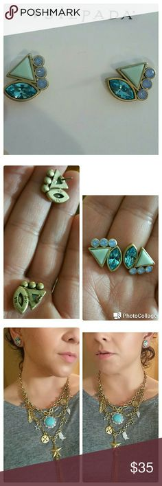 """""""COOL OFF"""" SILPADA!! Lovely new earrings. I have a necklace that looks very nice with this pair. Silpada Jewelry Earrings"""