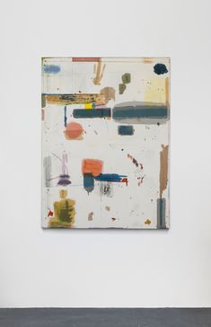 Matt Connors.  Machine  2012  Acrylic on canvas  152.4 x 114.3 cm / 60 x 45 in