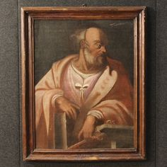 "1800€ Ancient Italian painting of ""Saint Peter"" of the 18th century. Visit our website www.parino.it #antiques #antiquariato #painting #art #antiquities #antiquario #canvas #oiloncanvas #landscape #quadro #dipinto #arte #tela #decorative #interiordesign #homedecoration #antiqueshop #antiquestore #sacredart #saint #religious"