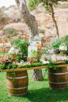 Photography: Anna Roussos - annaroussos.com   Read More on SMP: http://www.stylemepretty.com/2016/11/02/this-greek-wedding-is-total-floral-goals/