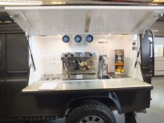 Landrover Defender converted into a Coffee Van Land Rover Defender, Defender 110, Barista Training, Coffee Trailer, Mobile Cafe, Coffee Van, Wholesale Coffee, Homemade Smoker, Coffee Business