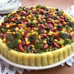 Tart Kalıbında Kumpir Tarifi Cooking Recipes, Healthy Recipes, Healthy Meals, Salad Dishes, Turkish Delight, Turkish Recipes, Frozen Yogurt, No Cook Meals, Bon Appetit