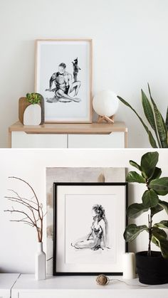 Beautiful and artistic prints where the human body, black and white ink and line art come together to show a collection full of delicacy. Perfect to express your love for art and feminity, these are prints will decorate your home with an elegant and artistic style, with the good taste of nude art and the special touch of elegance in black and white. Click to see the whole collection. Boho Bedroom Decor, Boho Decor, White Ink, Black And White, Feminist Art, Watercolor And Ink, Line Drawing, Human Body, Line Art