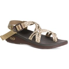 Chaco Women's Z/cloud X2 Sandal ($110) ❤ liked on Polyvore featuring shoes, sandals, kelp knit, travel shoes, double strap sandals, chaco sandals, chaco footwear and chaco shoes
