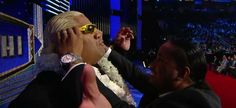 Jey and his dad Rikishi