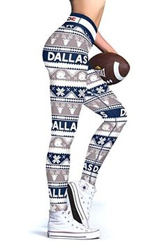 9145ee9df CNC Apparel Dallas Leggings Christmas Edition - L. NFL Fans Paradise · Dallas  Cowboys