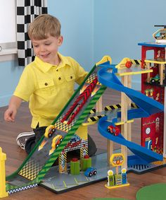 Another great find on #zulily! Mega Ramp Racing Set #zulilyfinds