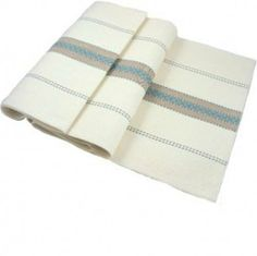"""Thick Weave Seville Champagne Cream Blue & Beige Table Runner 35cm x 191cm (14"""" x 75"""" inches) by Market-Place. $29.49. An ideal way of protecting tables and adding colour in a modern and contemporary environment.. Thick Weave Seville Champagne Cream Blue & Beige Table Runner 35cm x 191cm (14"""" x 75"""" inches). Matching napkins and tablecloths available.. Restaurant quality. Machine washable. Tumble Dry & Easy Iron. Made from a fabric that combines specially designed fi..."""