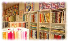 Cutting Edge Quilts in downtown Chandler.  One of the nicest and friendliest quilting stores in the valley.  I love to go here to get ideas for.  The ladies are a big help at solving quilting issues.  Their long are quilting service is wonderful.